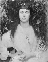 Alice Liddell aged 20 photographed by Julia Margaret Cameron