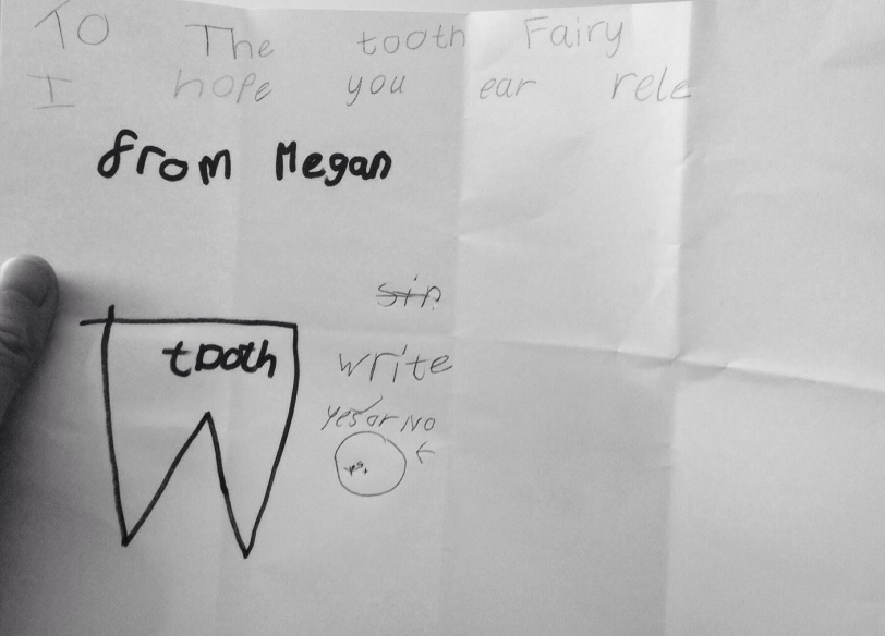 'To the Tooth Fairy'