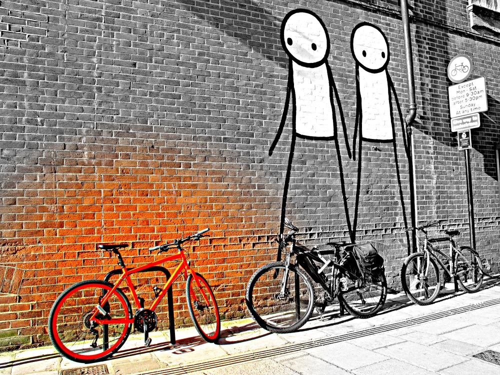 'Burnt Orange Bike'